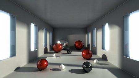 balls, size, space