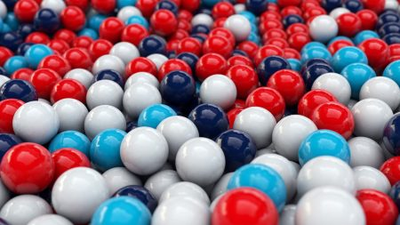 balls, smooth surface, colorful