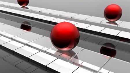 balls, surface, metal