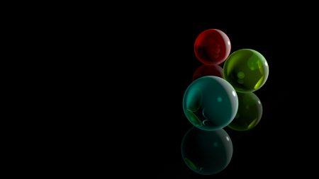 balls, white, dark