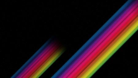 band, multi-colored, white