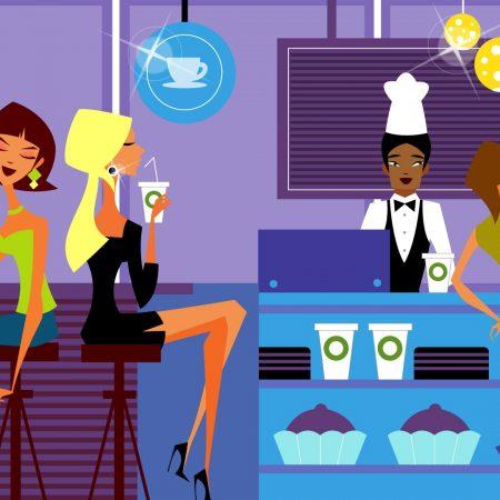 bar, food, cafe