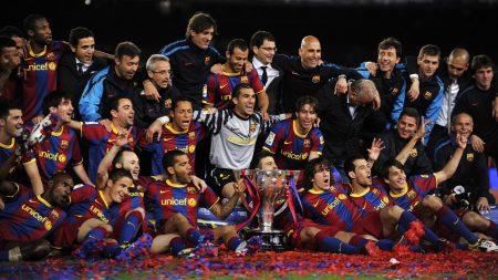 barcelona, team, cup