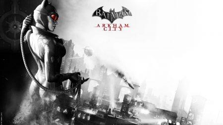 batman arkham city, catwoman, game