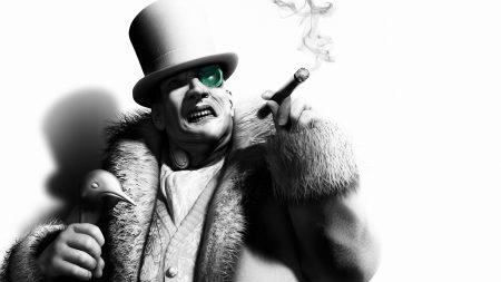 batman arkham city, penguin, character