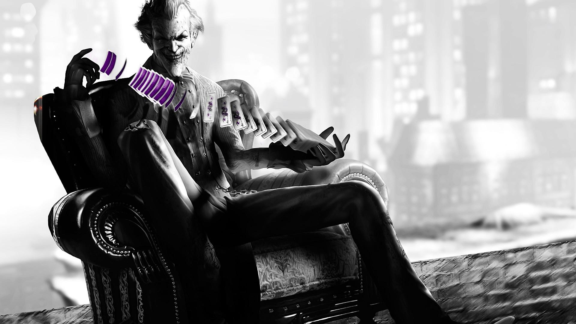 Download Wallpaper 1920x1080 Batman Arkham City The Joker