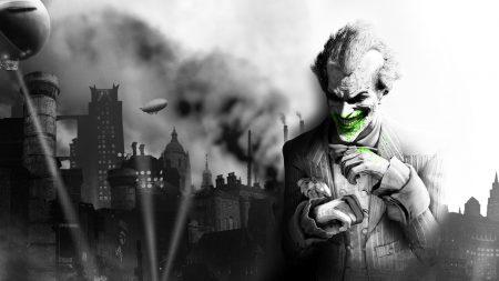 batman arkham city, the joker, smile