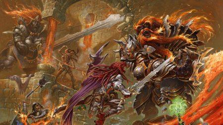 battle, fire, weapons