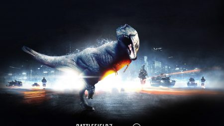 battlefield 3, dinosaur, city