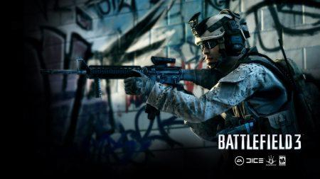 battlefield 3, soldier, gun