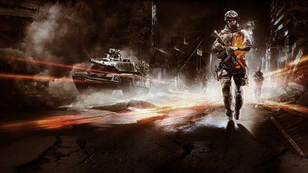 battlefield, soldier, city
