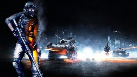 Download wallpaper 1920x1080 battlefield soldier headphones player gun full hd 1080p hd - Battlefield 3 hd wallpaper 1080p ...