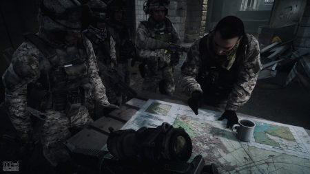 battlefield, soldiers, map