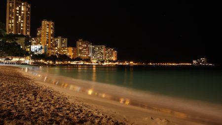 beach, coast, sand