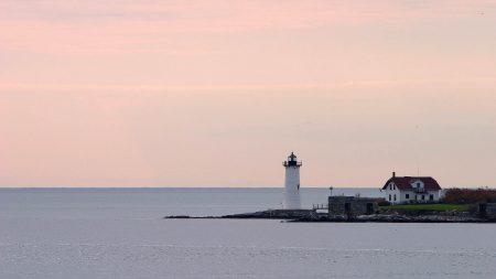 beacon, coast, house