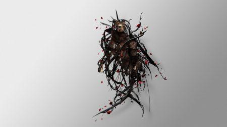 bear, twigs, surrealism