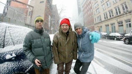 beastie boys, snow, city