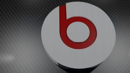 beats, headphone, red