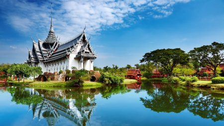 beautiful, china, building