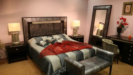 bed, bedding, style