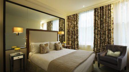 bed, bedroom, modern