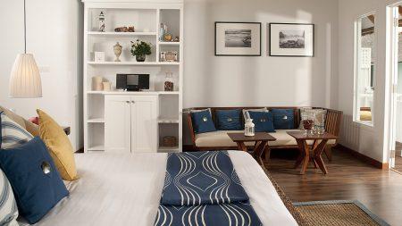 bed, room, furniture