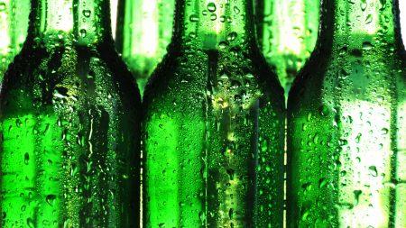 beer, bottle, drop