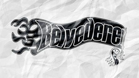 belvedere, name, font