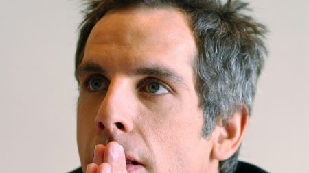 ben stiller, brunette, hands