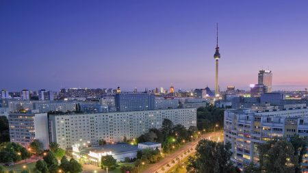berlin, city, roads
