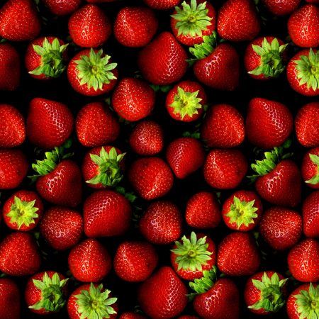 berry, strawberry, many