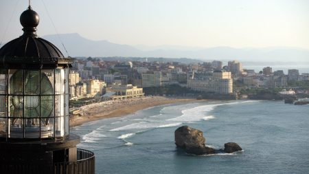 biarritz, lighthouse, france