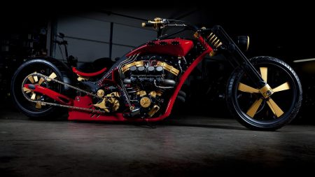 bike, chopper, stylish