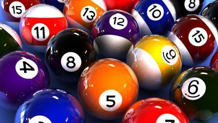 billiards, ball, number