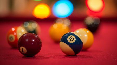 billiards, table, colorful