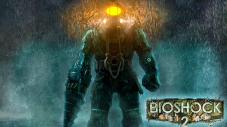 bioshock 2, big daddy, rain