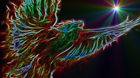 bird, form, colorful