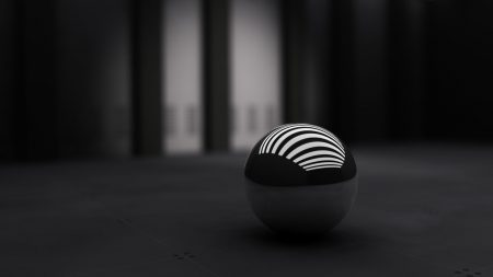 black, ball, band