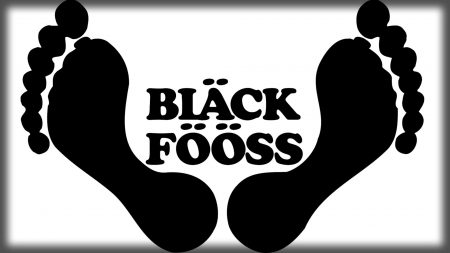 black fooss, font, feets