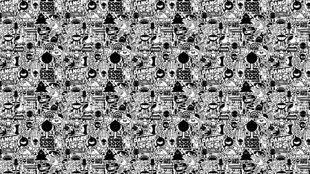 black white, texture, design
