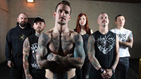 bleeding through, tattoo, t-shirts