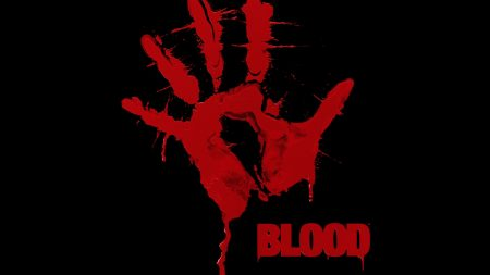 blood, palm, hand