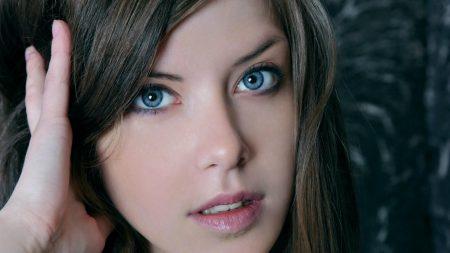 blue eyes, eyes, girl