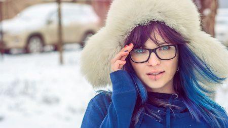 blue eyes, hat, sunglasses