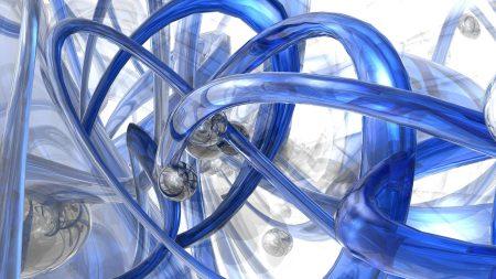 blue, spiral shape, white
