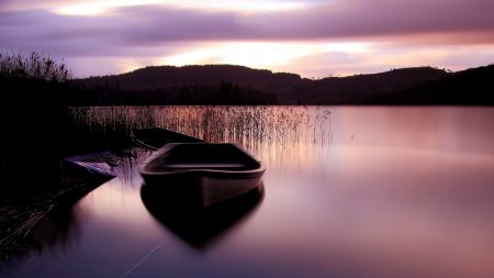 boat, smooth surface, surface