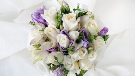 bouquet, arrangement, roses