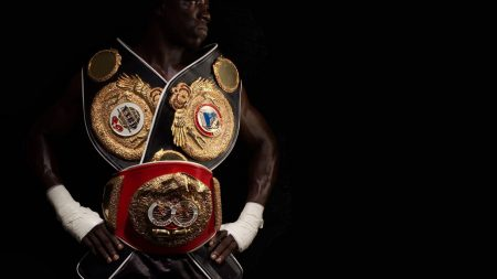 boxing, champion, belts