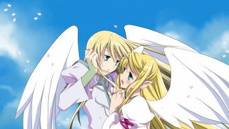boy, girl, angel