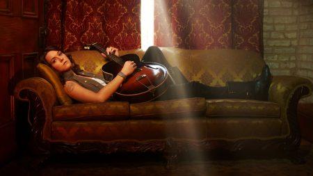 brandi carlile, girl, guitar
